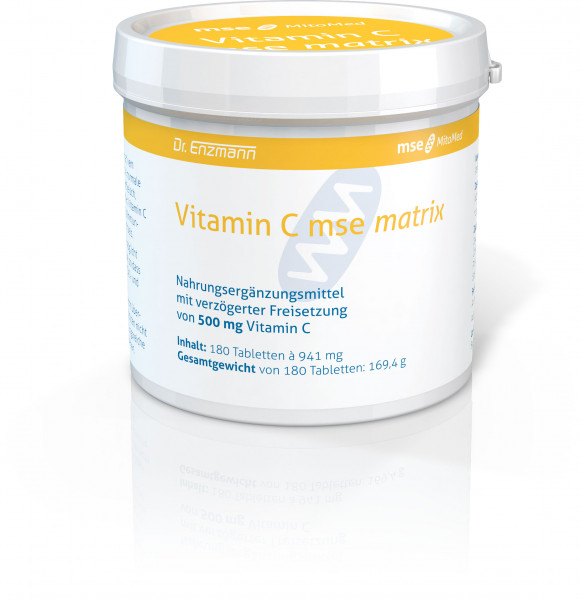 Vitamin C mse matrix - 180 tablets