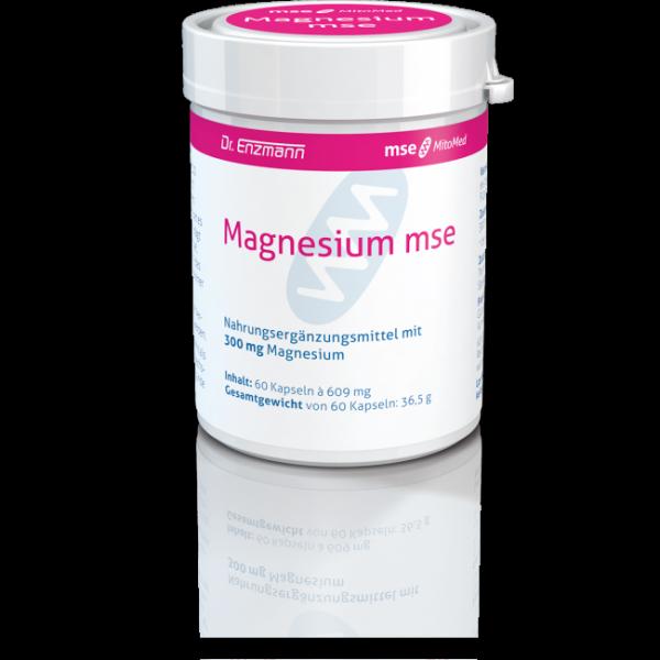 Magnesium mse - 60 Kapseln