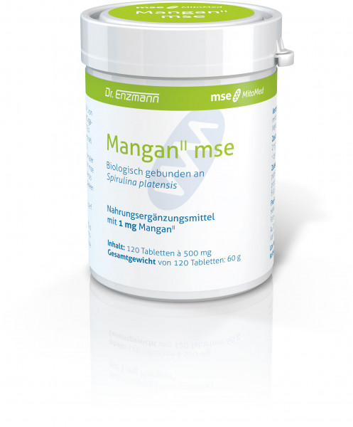 Mangan II mse - 120 tablets