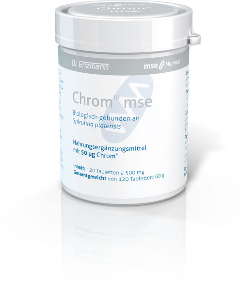 Chrom III mse - 120 Tabletten - PZN 03188820