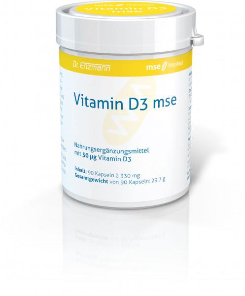 Vitamin D3 mse - 90 Kapseln
