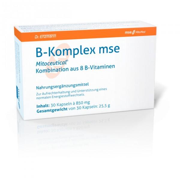B-Komplex mse - 30 Kapseln