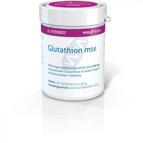 Glutathion mse - 60 Tabletten
