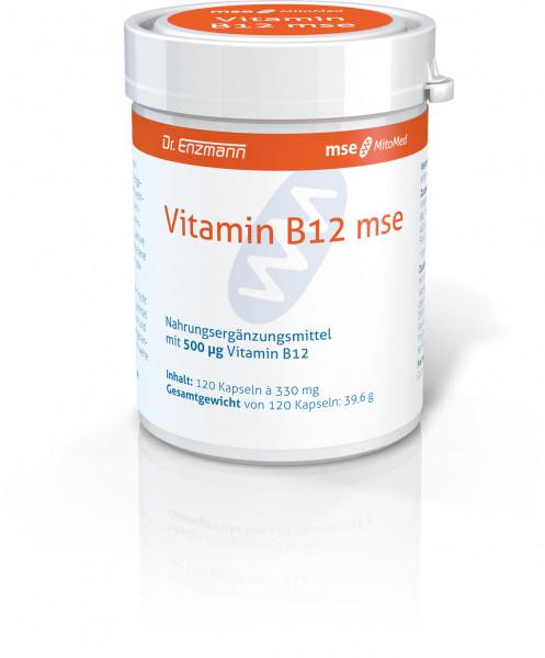 Vitamin B12 mse - 120 Kapseln - PZN 09536328